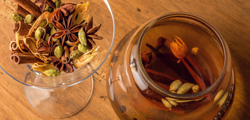 Mélanges d'épices pour boissons