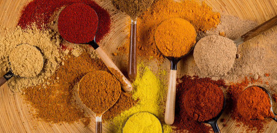 Ground spices and blends from all over the world