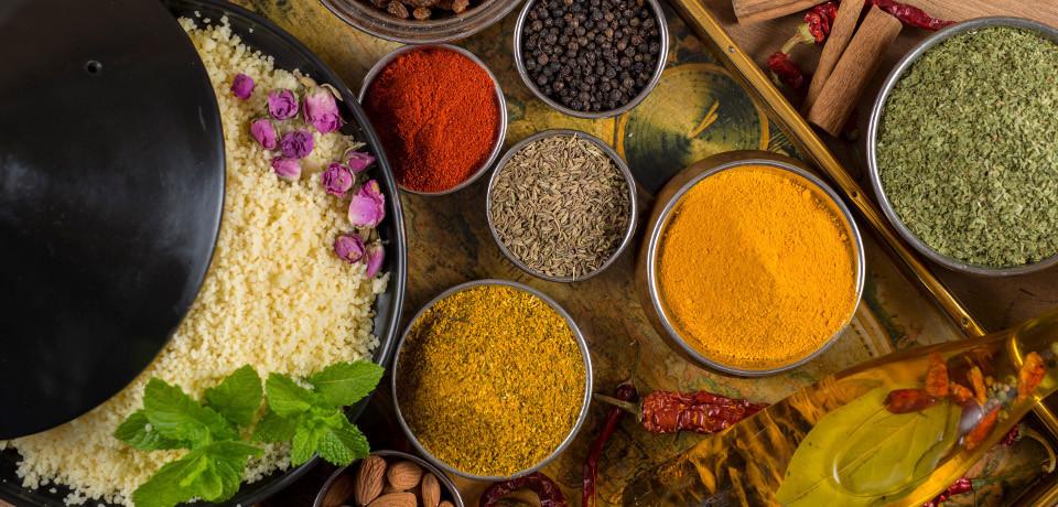 Les épices du Maghreb